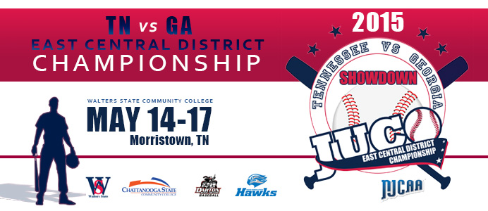 East Central District Championship. May 14-17 at Walters State Community College in Morristown, TN.