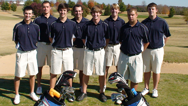 Senators Golf Team 2010-2011