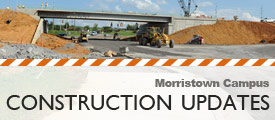 construction updates for morristown