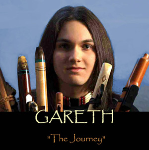 Gareth laffely holding a flute