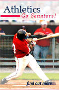 WS Athletics. Go Senators!. Click to find out more.