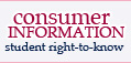Consumer information and student right-to-know. Click to find out more.