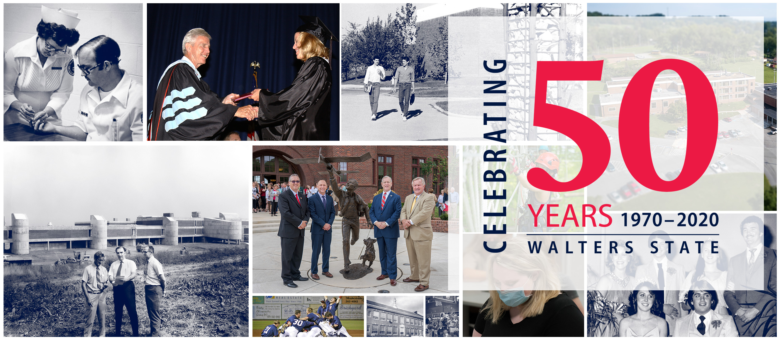 Celebrating 50 Years 1970-2020 Walters State